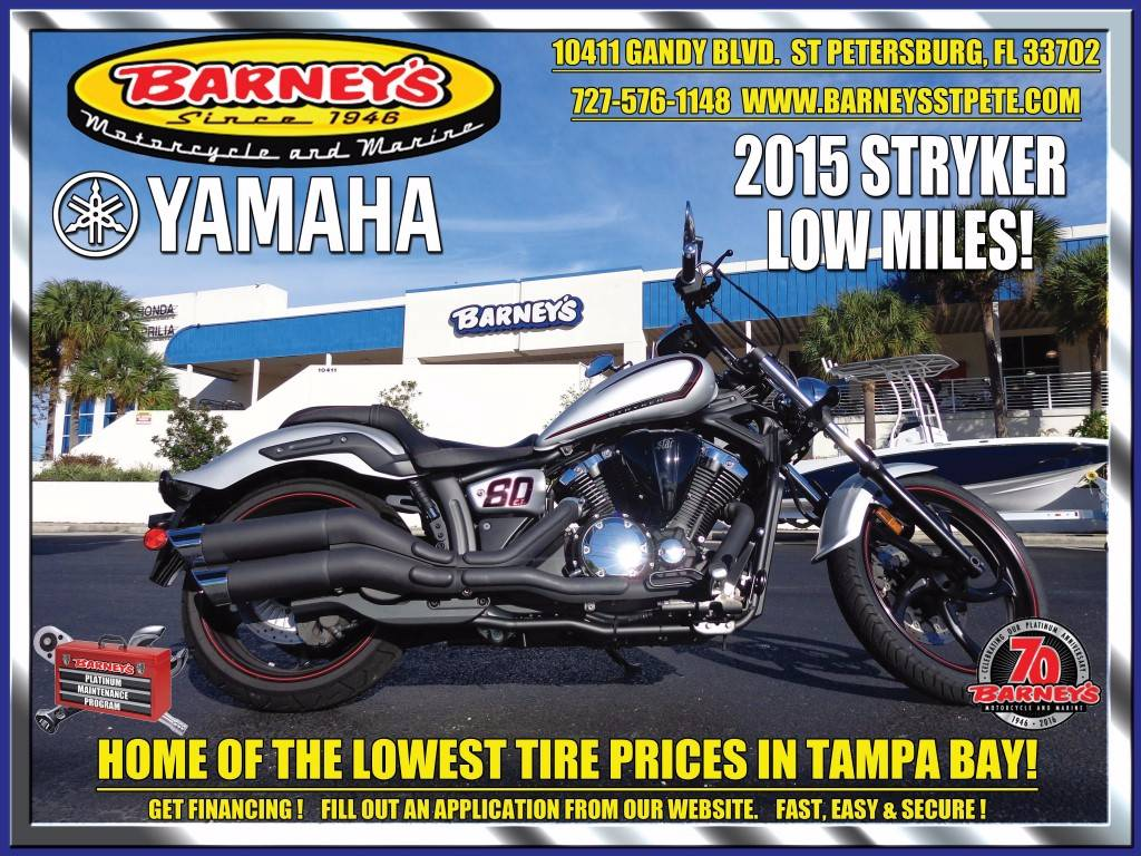 2015 Yamaha Stryker in Saint Petersburg, Florida