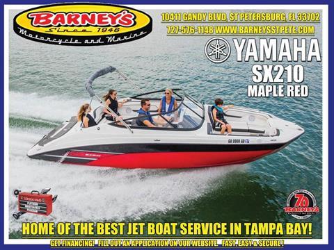 2017 Yamaha SX210 in Saint Petersburg, Florida