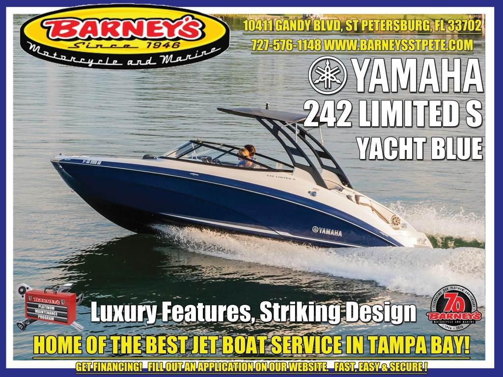 2017 Yamaha 242 Limited S in Saint Petersburg, Florida