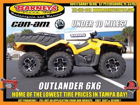 2015 Can-Am Outlander™ 6x6 XT™ 1000 in Saint Petersburg, Florida