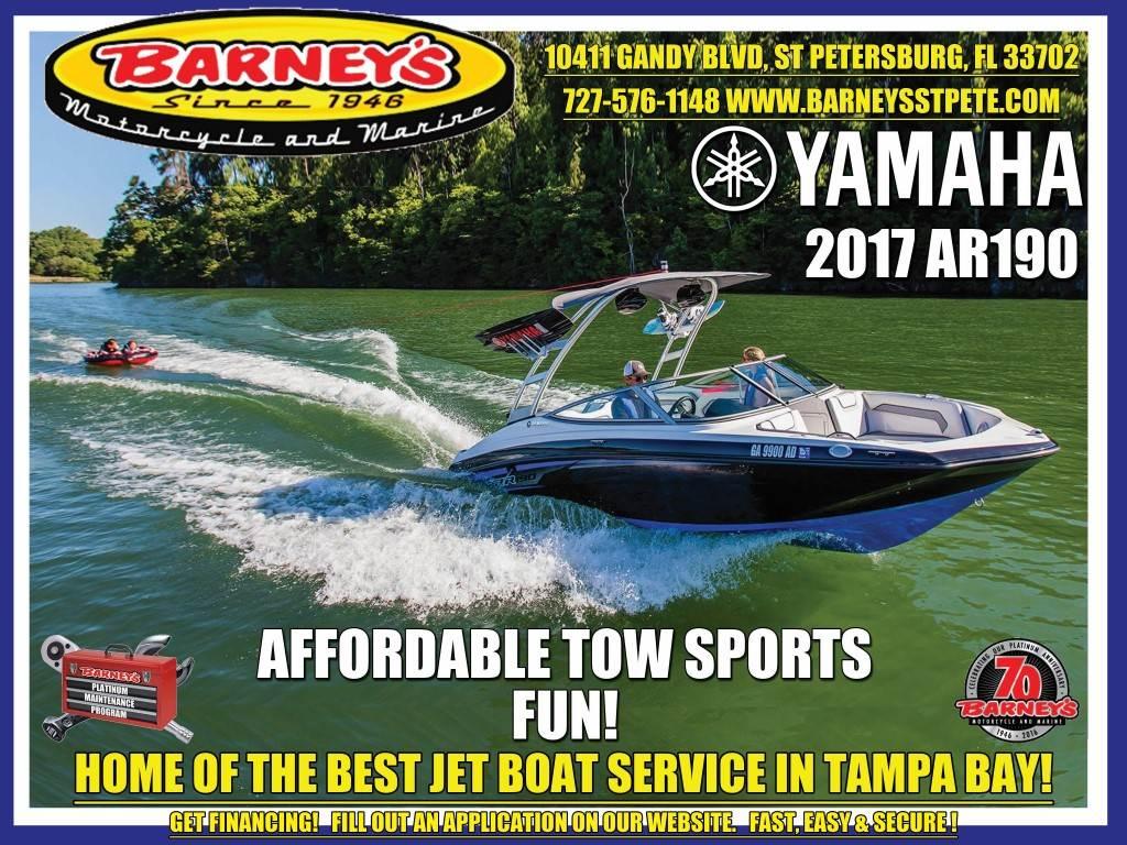 2017 Yamaha AR190 in Saint Petersburg, Florida