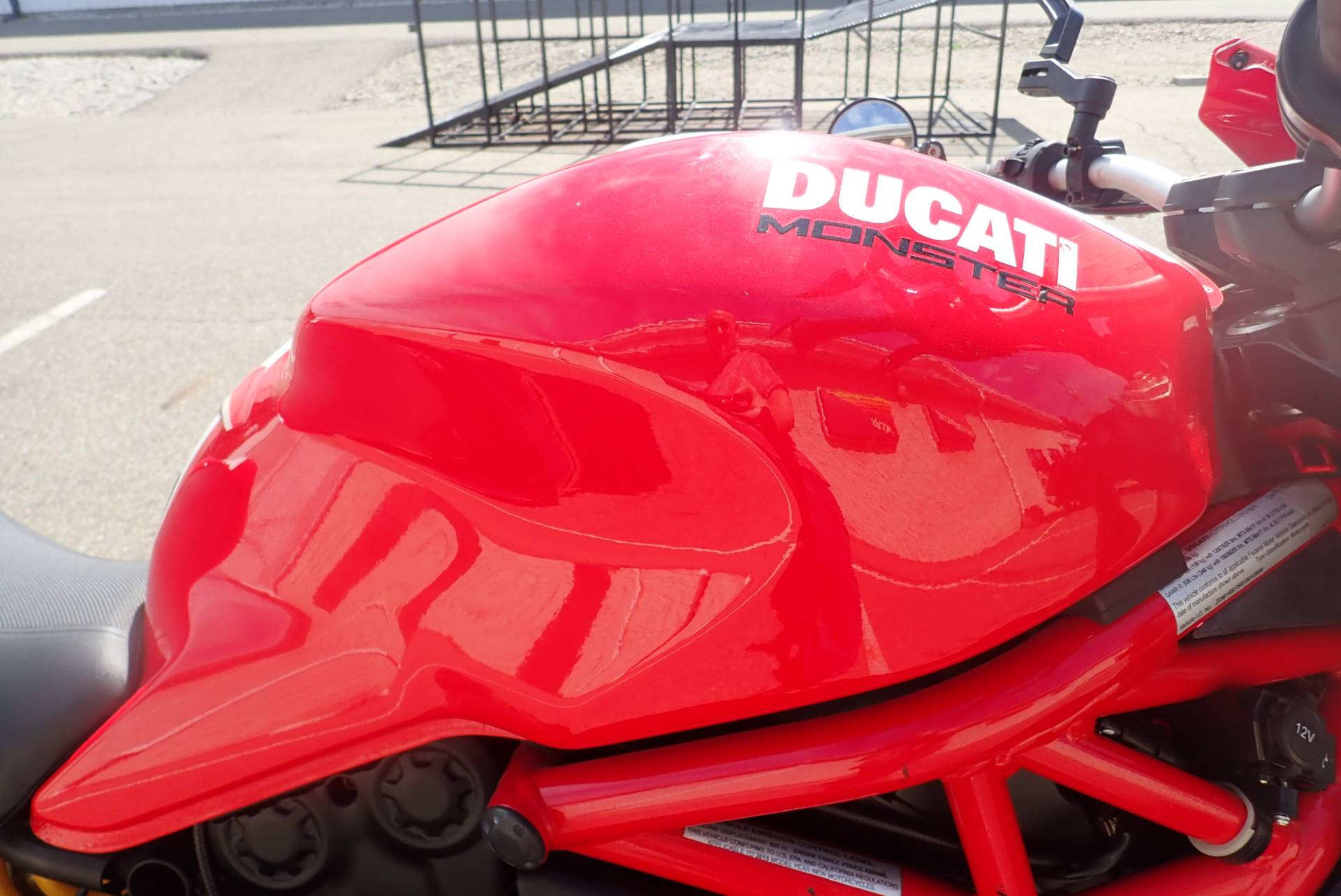 2015 Ducati Monster 821 Stripe in Massillon, Ohio - Photo 3