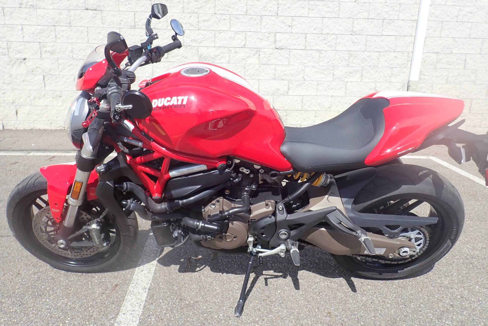 2015 Ducati Monster 821 Stripe in Massillon, Ohio - Photo 12