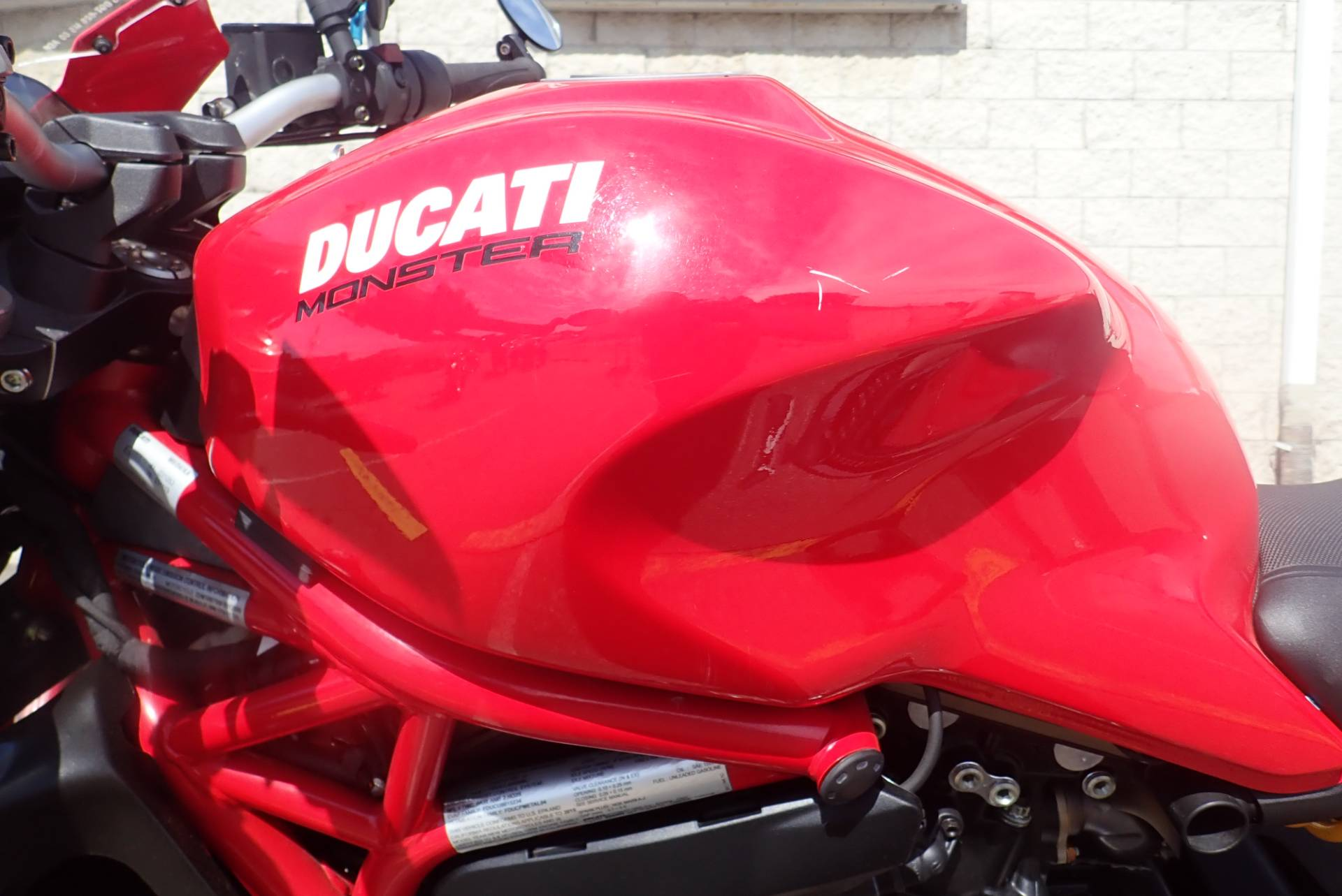 2015 Ducati Monster 821 Stripe in Massillon, Ohio - Photo 14
