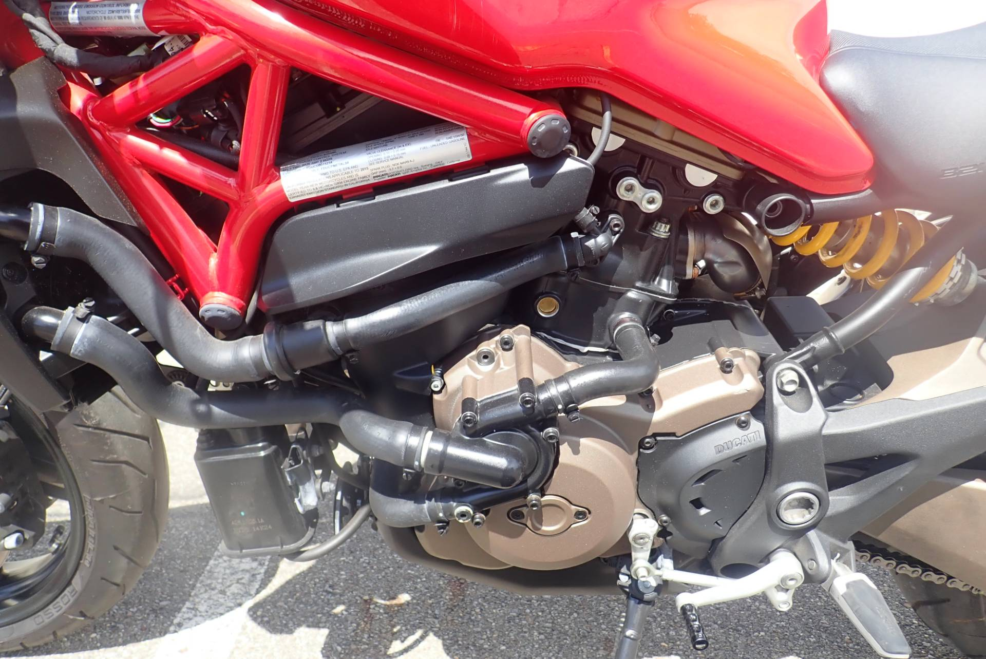 2015 Ducati Monster 821 Stripe in Massillon, Ohio - Photo 15