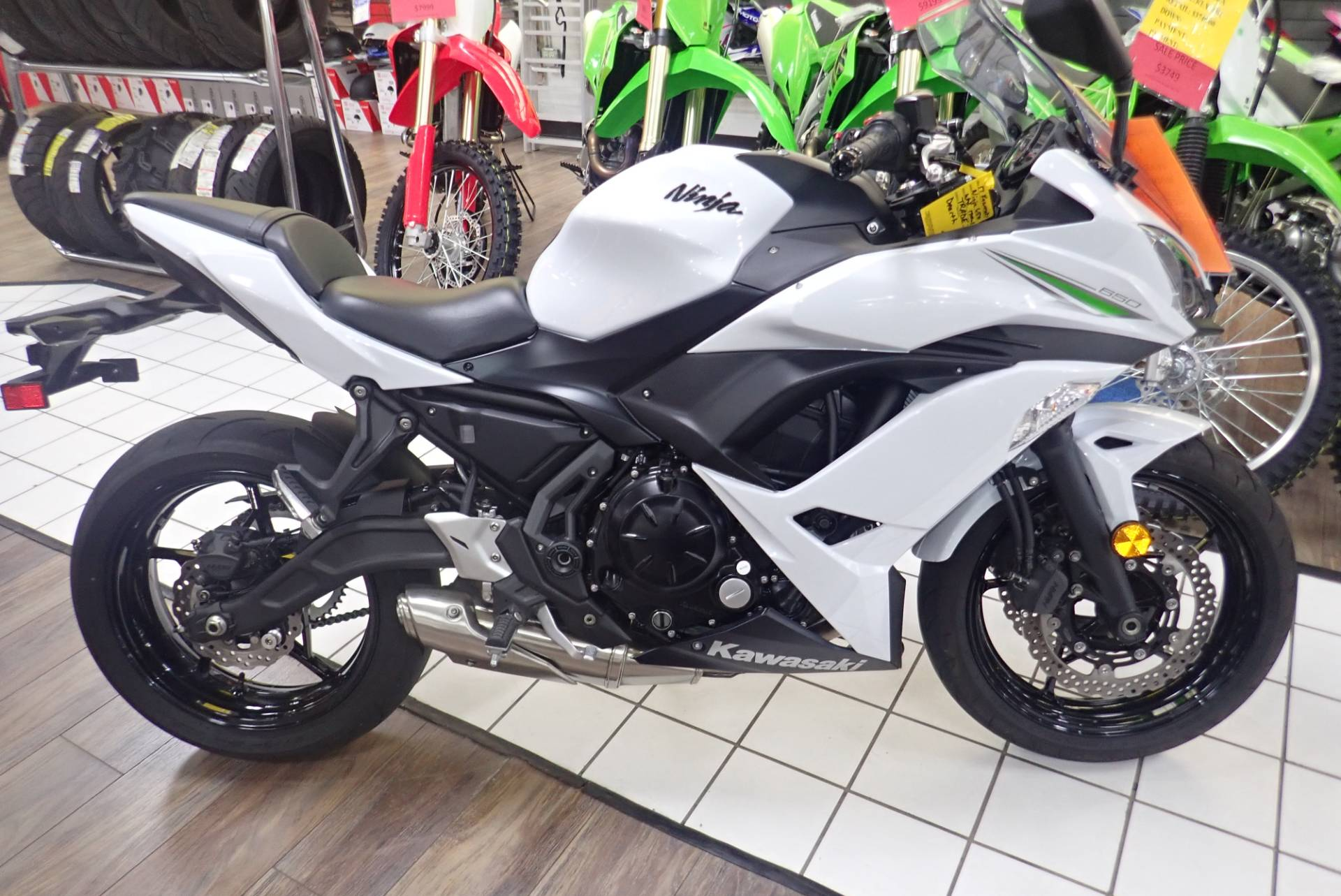 2017 Kawasaki Ninja 650 in Massillon, Ohio - Photo 1
