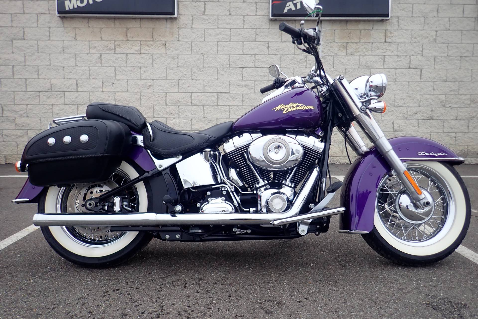 2008 Harley Davidson Heritage Softail Classic Motorcycles Massillon In Ohio