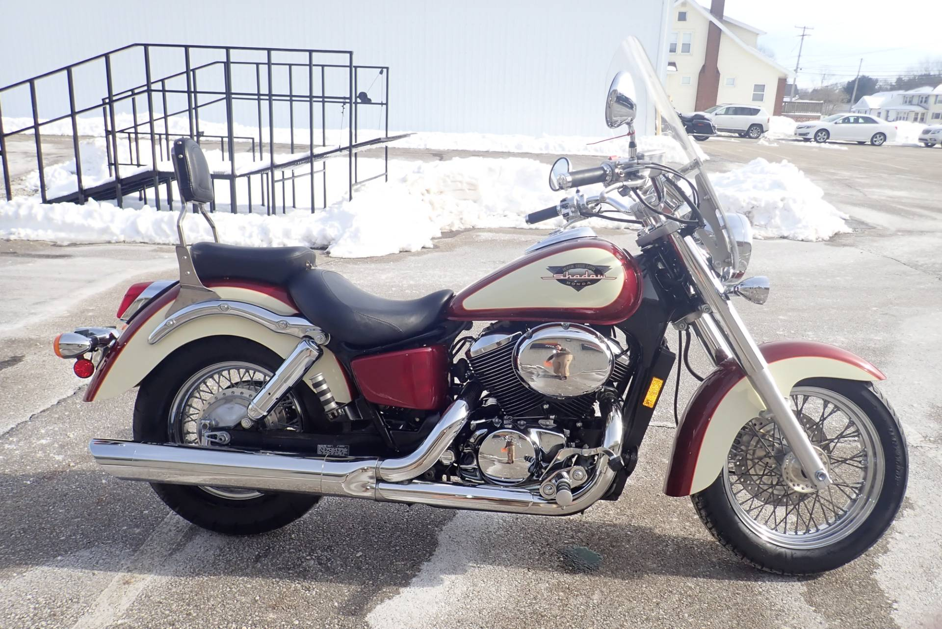 1998 Honda Shadow ACE DLX in Massillon, Ohio - Photo 1