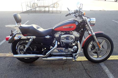 2009 Harley-Davidson Sportster® 1200 Custom in Massillon, Ohio - Photo 1