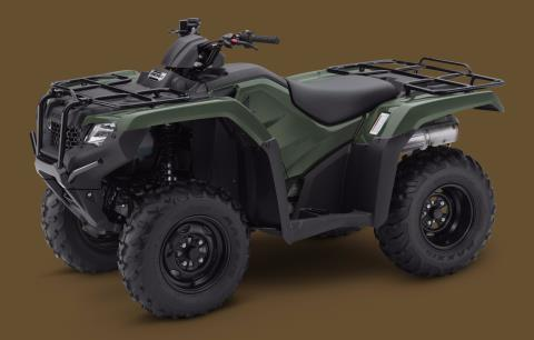 2017 Honda FourTrax Rancher in Massillon, Ohio