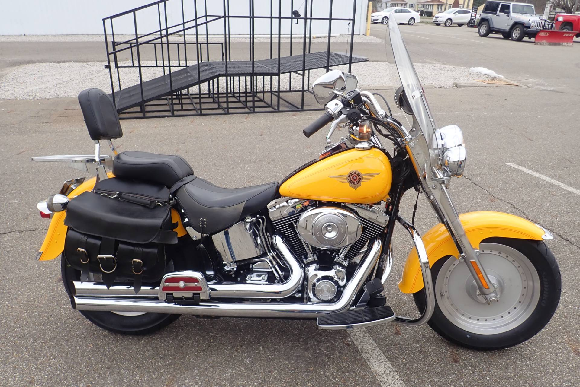 2001 Harley-Davidson FLSTF/FLSTFI Fat Boy® in Massillon, Ohio - Photo 1