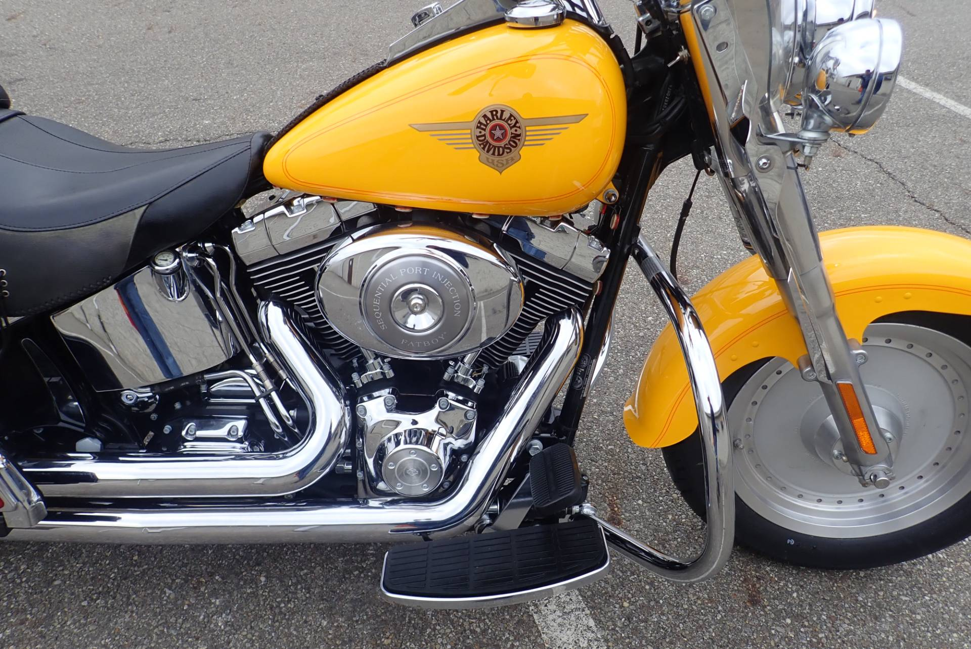 2001 Harley-Davidson FLSTF/FLSTFI Fat Boy® in Massillon, Ohio - Photo 6