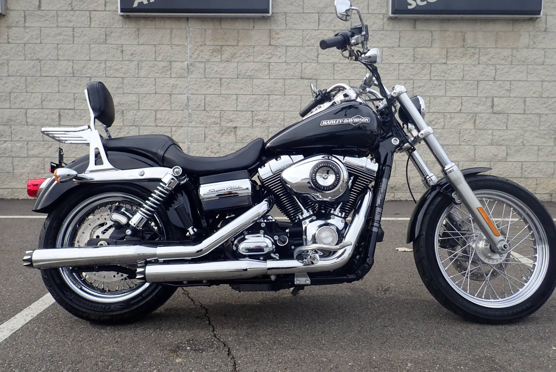 2012 Harley-Davidson Dyna® Super Glide® Custom Motorcycles