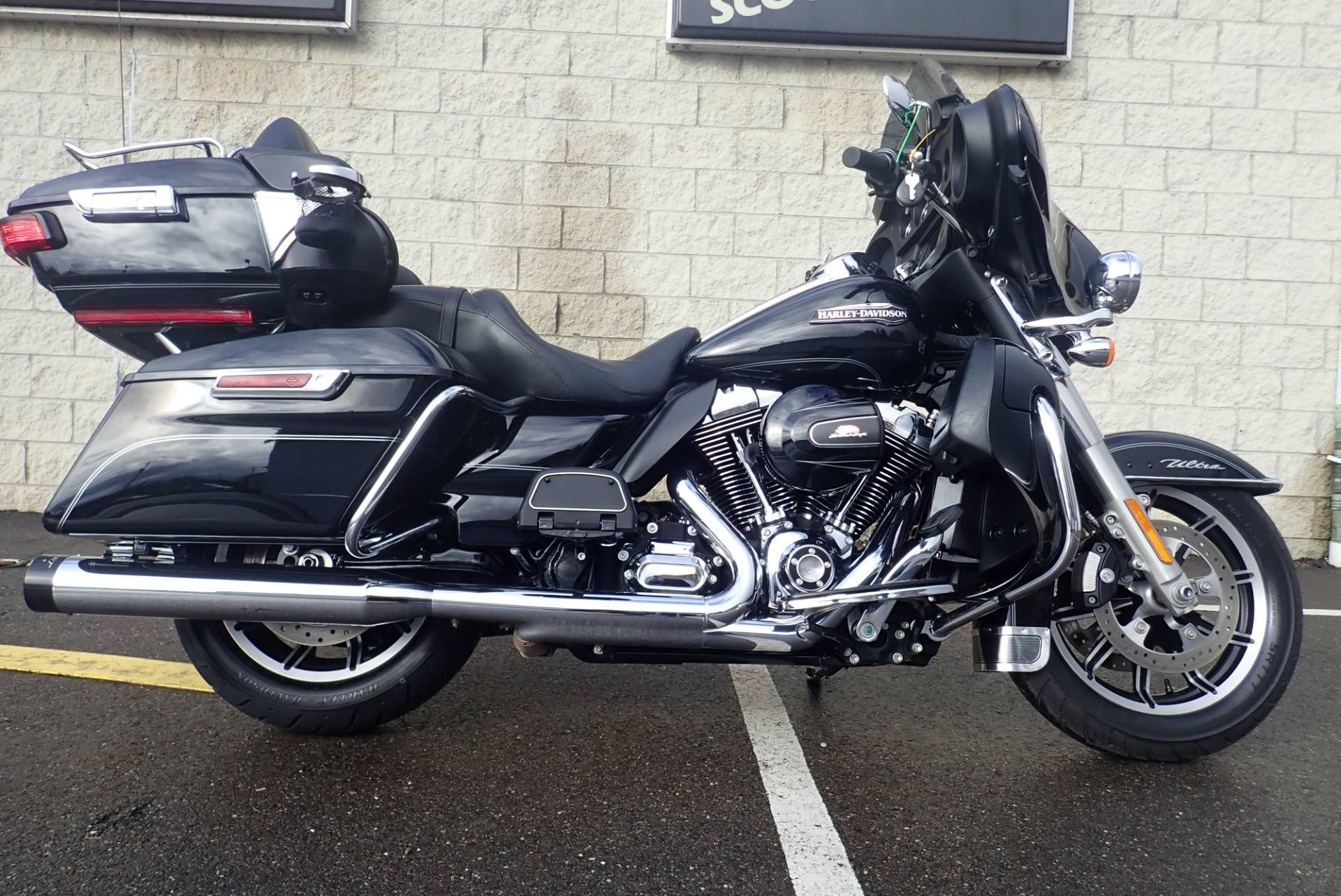 2015 Harley Davidson Electra Glide Ultra Classic Motorcycles Tour Pack In Massillon Ohio