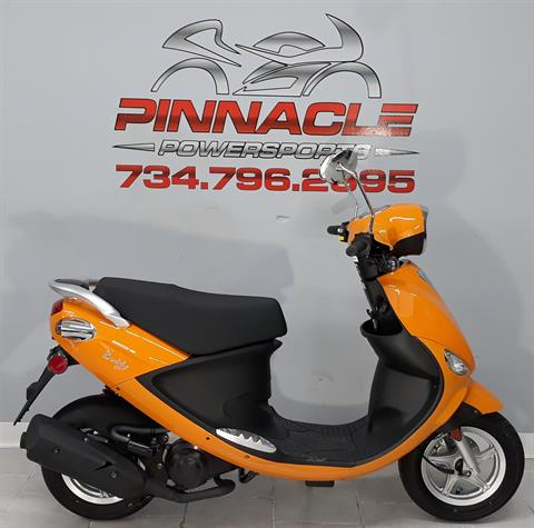 2021 Genuine Scooters Buddy 50 in Belleville, Michigan - Photo 1