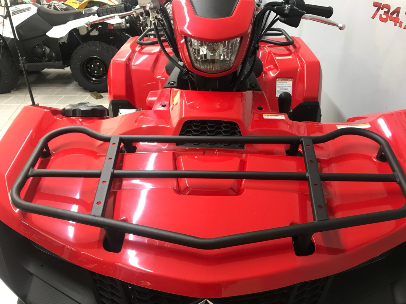 2019 Suzuki KingQuad 750AXi in Belleville, Michigan - Photo 3