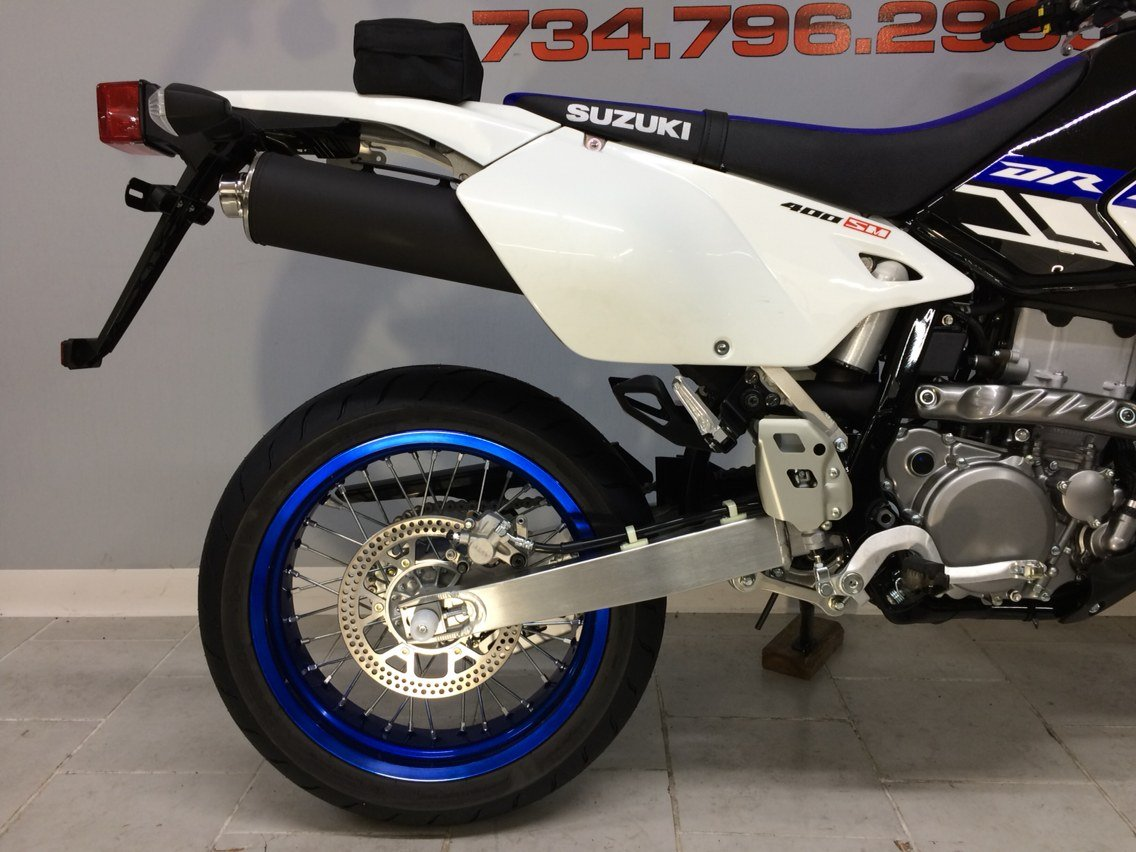 2019 Suzuki DR-Z400SM in Belleville, Michigan