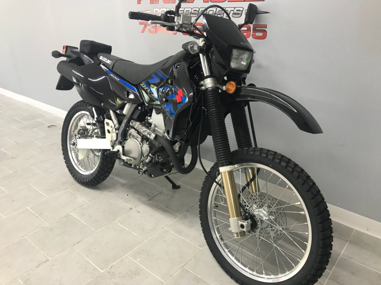 2017 Suzuki DR-Z400S in Belleville, Michigan