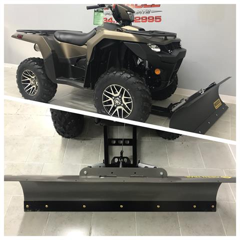 2019 Suzuki KingQuad 500AXi Power Steering SE+ in Belleville, Michigan