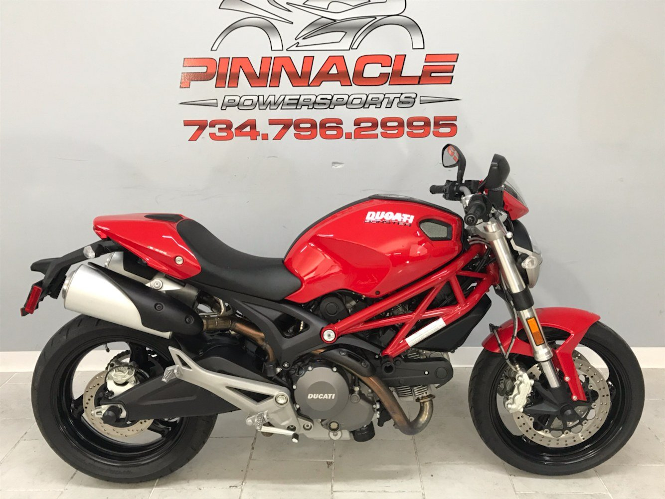 2012 Ducati Monster 696 in Belleville, Michigan - Photo 1