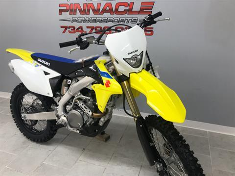 2018 Suzuki RMX450Z in Belleville, Michigan