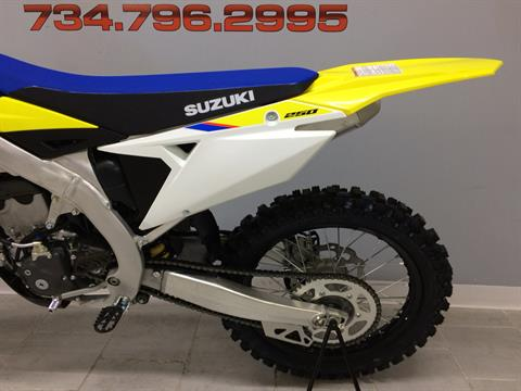 2019 Suzuki RM-Z250 in Belleville, Michigan - Photo 8