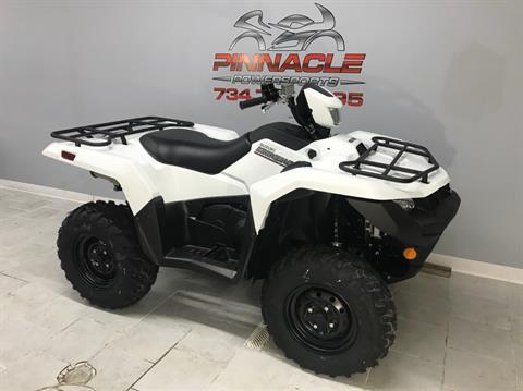 2020 Suzuki KingQuad 500AXi Power Steering in Belleville, Michigan - Photo 2