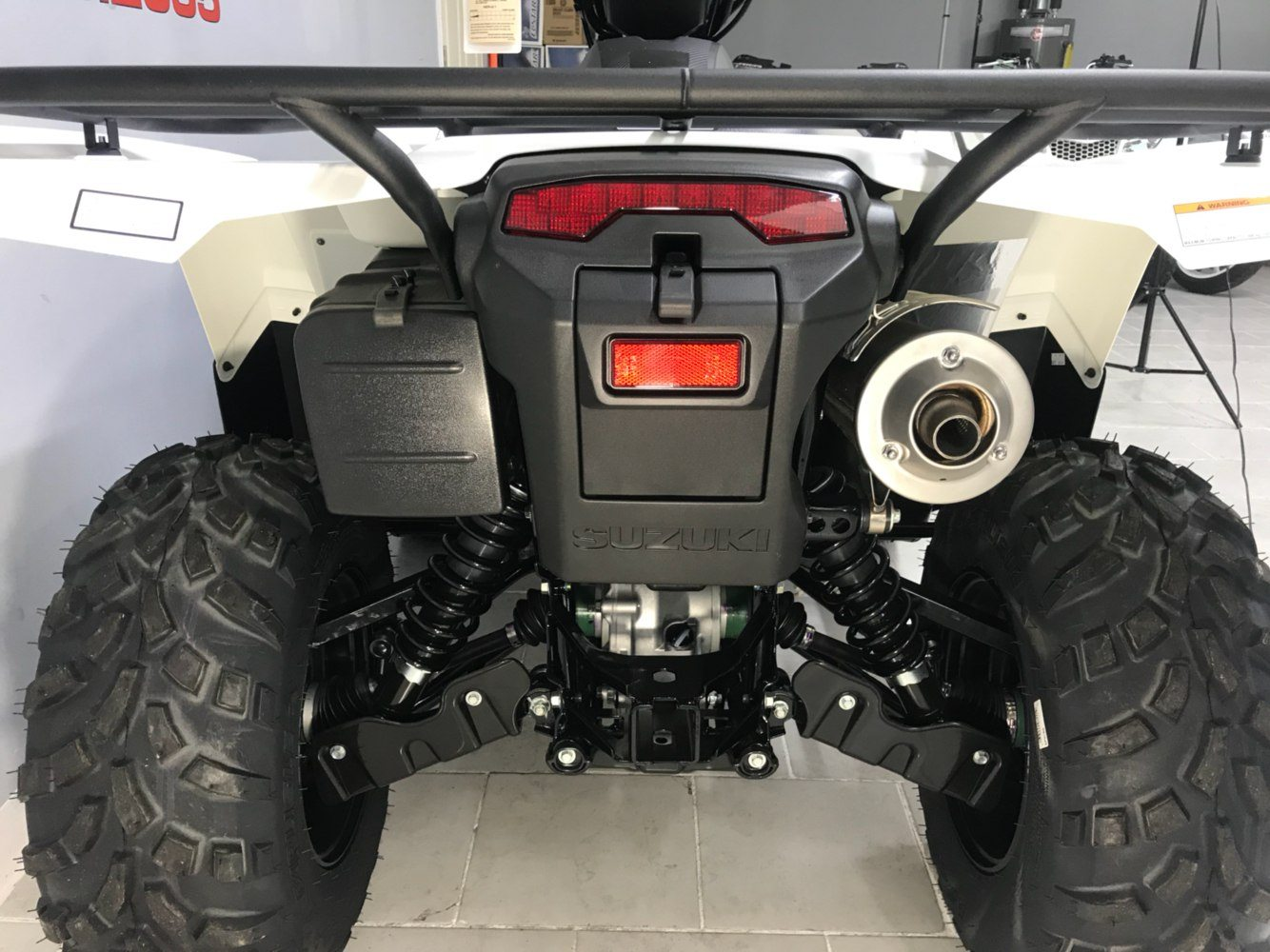 2020 Suzuki KingQuad 500AXi Power Steering in Belleville, Michigan - Photo 3