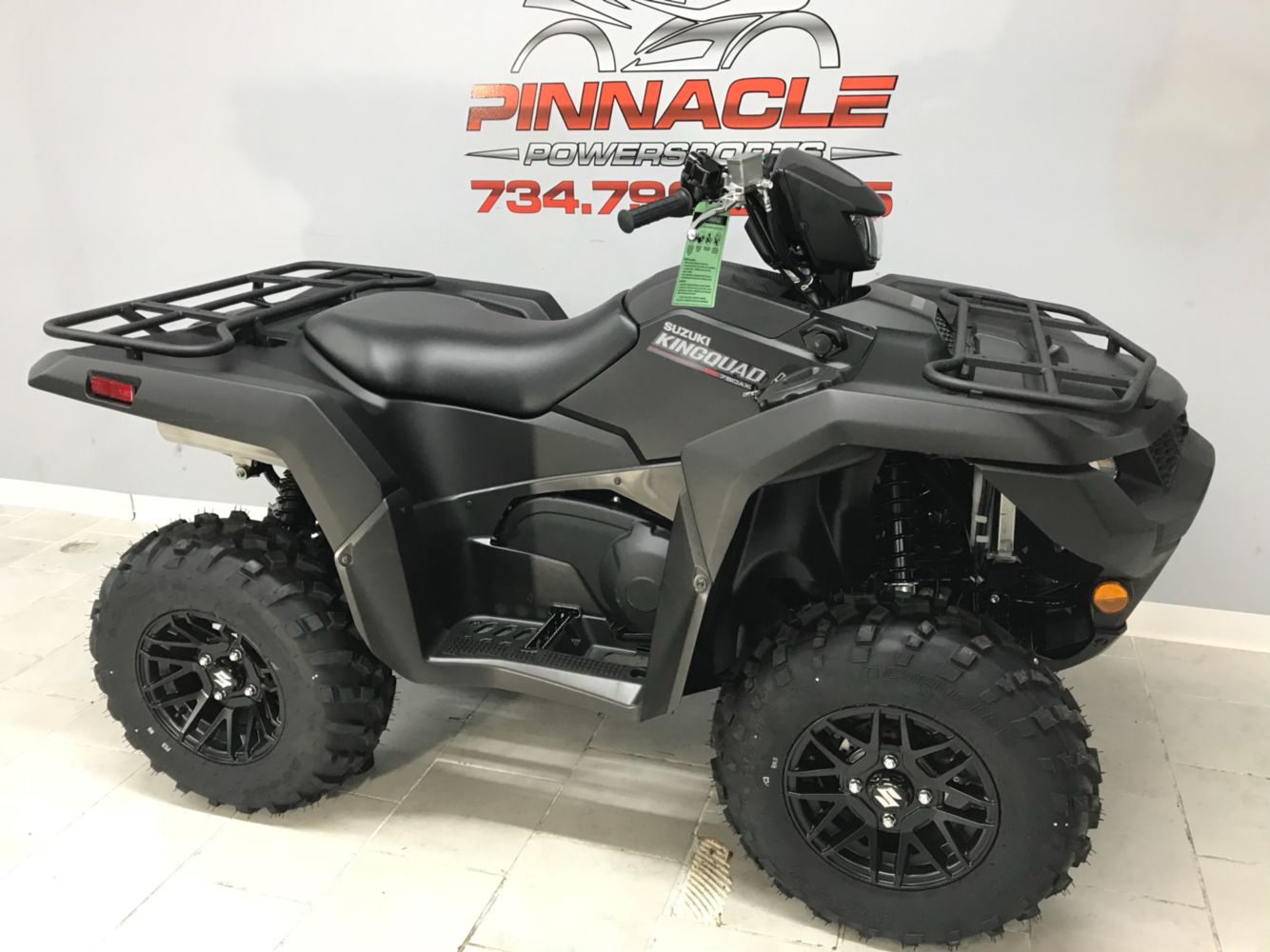 2020 Suzuki KingQuad 750AXi Power Steering SE+ in Belleville, Michigan - Photo 2