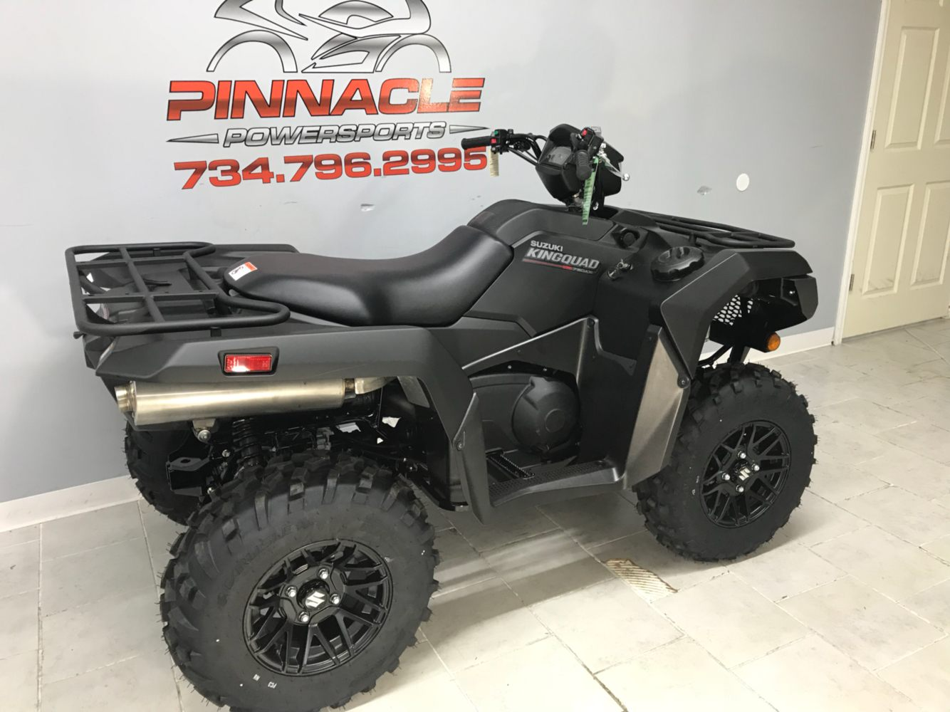 2020 Suzuki KingQuad 750AXi Power Steering SE+ in Belleville, Michigan - Photo 3