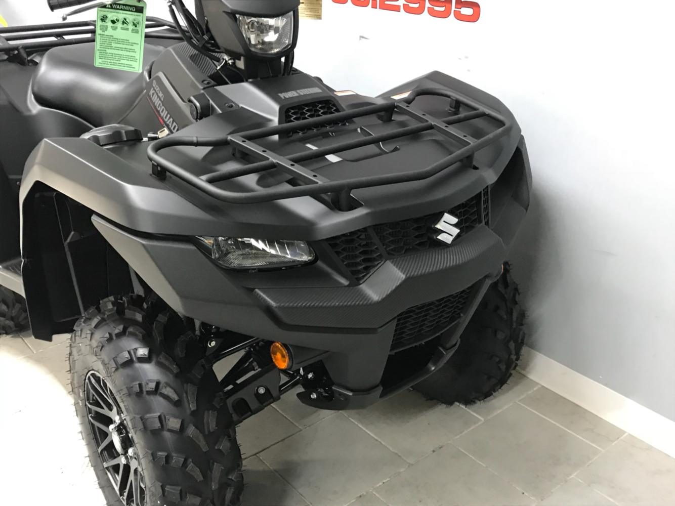 2020 Suzuki KingQuad 750AXi Power Steering SE+ in Belleville, Michigan - Photo 4