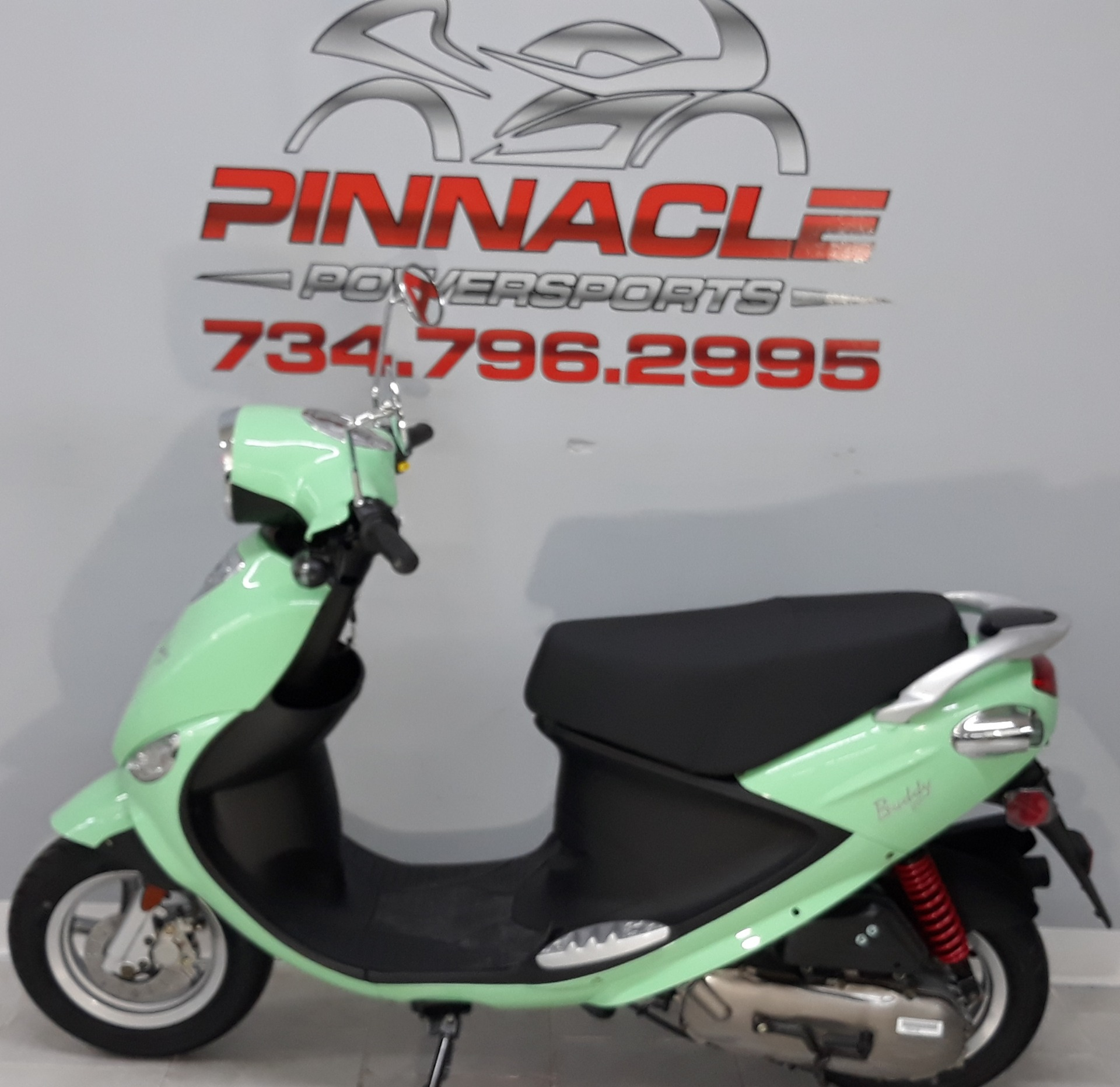2021 Genuine Scooters Buddy 50 in Belleville, Michigan - Photo 10