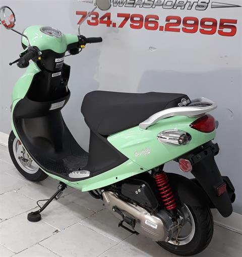 2021 Genuine Scooters Buddy 50 in Belleville, Michigan - Photo 8