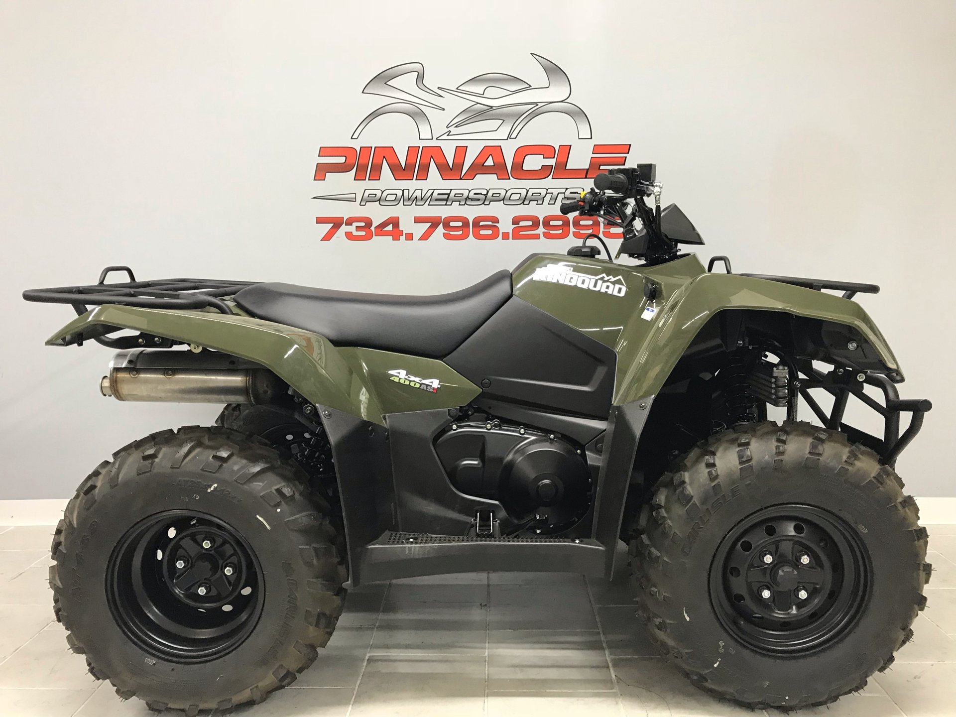 2020 Suzuki KingQuad 400ASi in Belleville, Michigan - Photo 1