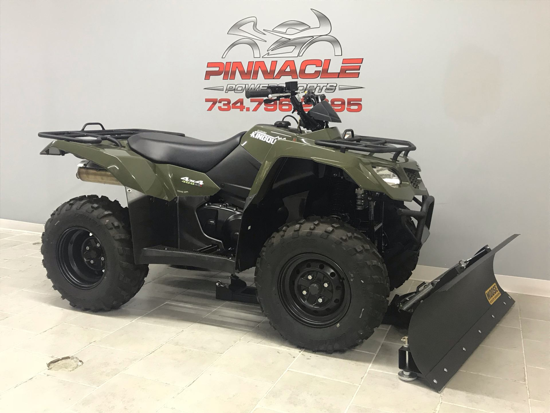 2020 Suzuki KingQuad 400ASi in Belleville, Michigan - Photo 3