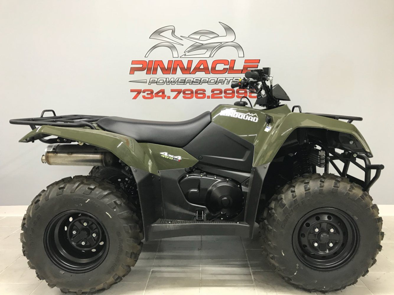 2019 Suzuki KingQuad 400ASi in Belleville, Michigan - Photo 1