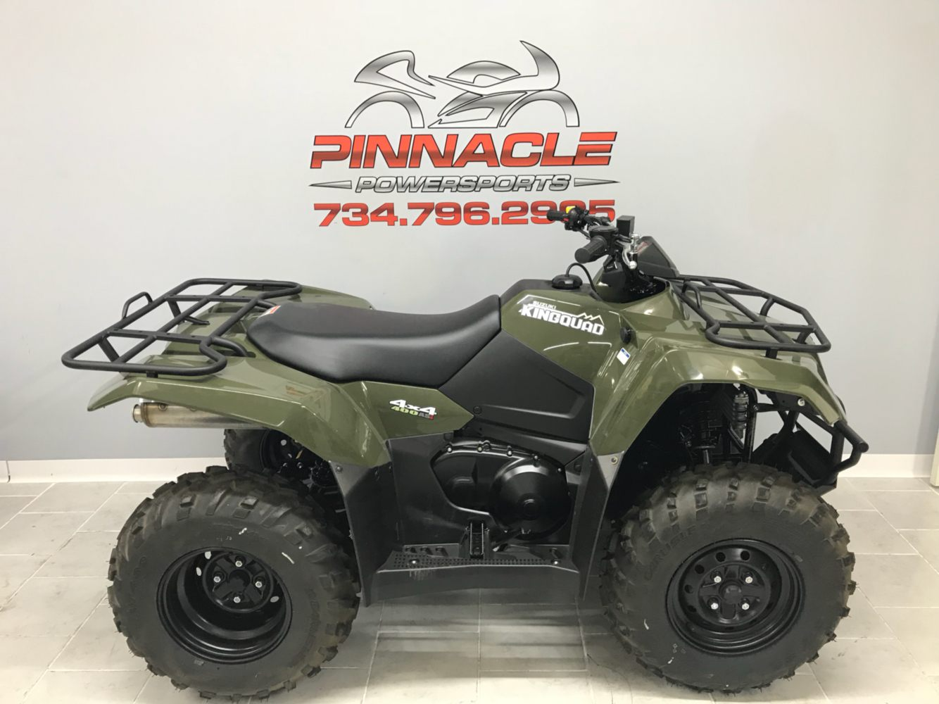 2019 Suzuki KingQuad 400ASi in Belleville, Michigan - Photo 2