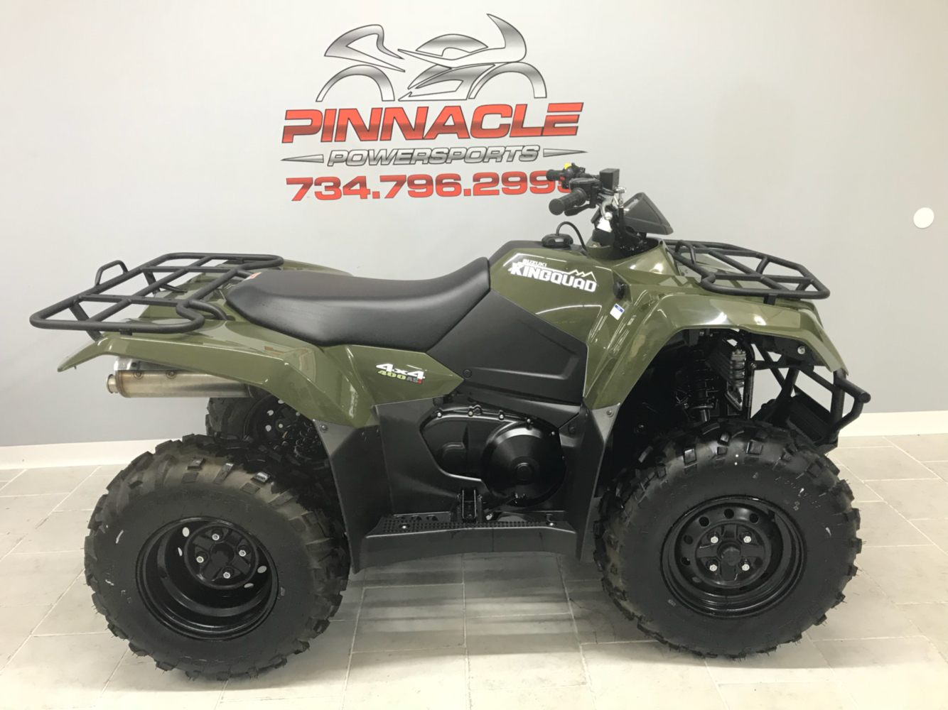 2019 Suzuki KingQuad 400ASi in Belleville, Michigan - Photo 3