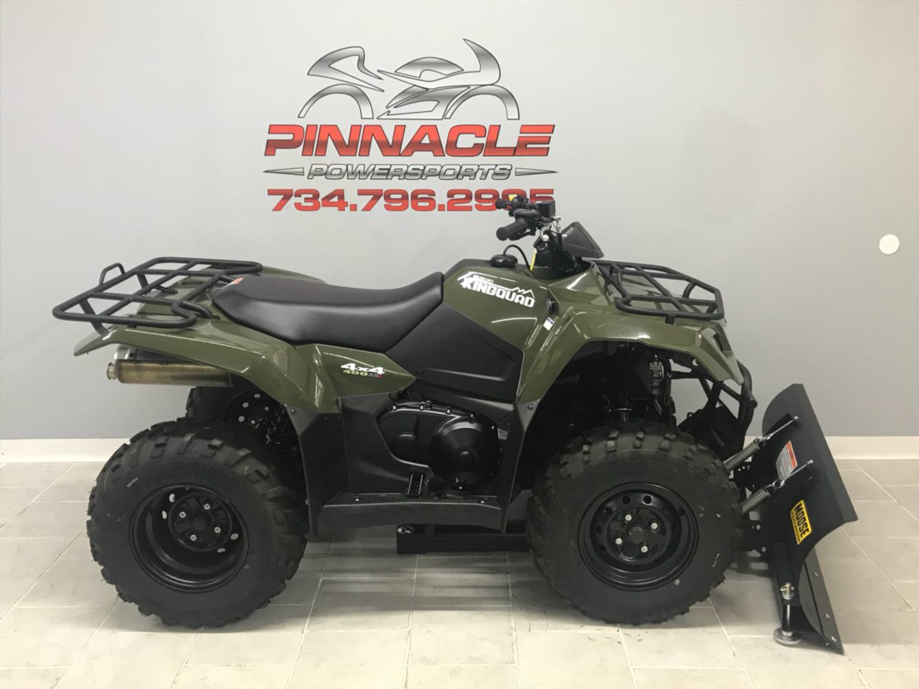 2019 Suzuki KingQuad 400ASi in Belleville, Michigan - Photo 5