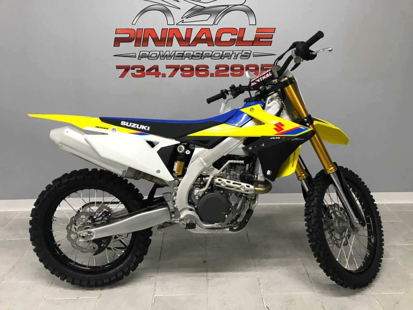 2018 Suzuki RM-Z450 in Belleville, Michigan - Photo 1