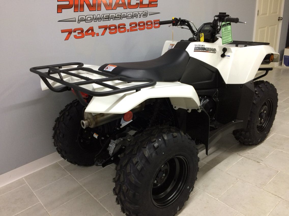 2019 Suzuki KingQuad 400ASi in Belleville, Michigan - Photo 8