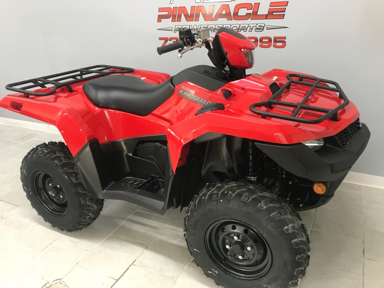 2019 Suzuki KingQuad 500AXi Power Steering in Belleville, Michigan - Photo 2