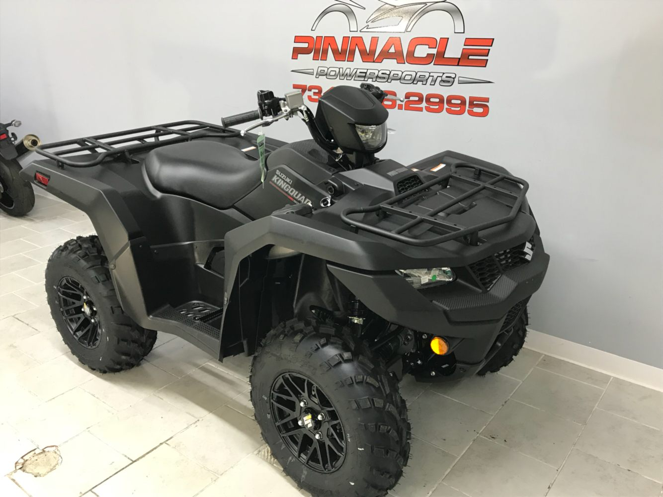 2020 Suzuki KingQuad 500AXi Power Steering SE+ in Belleville, Michigan - Photo 3