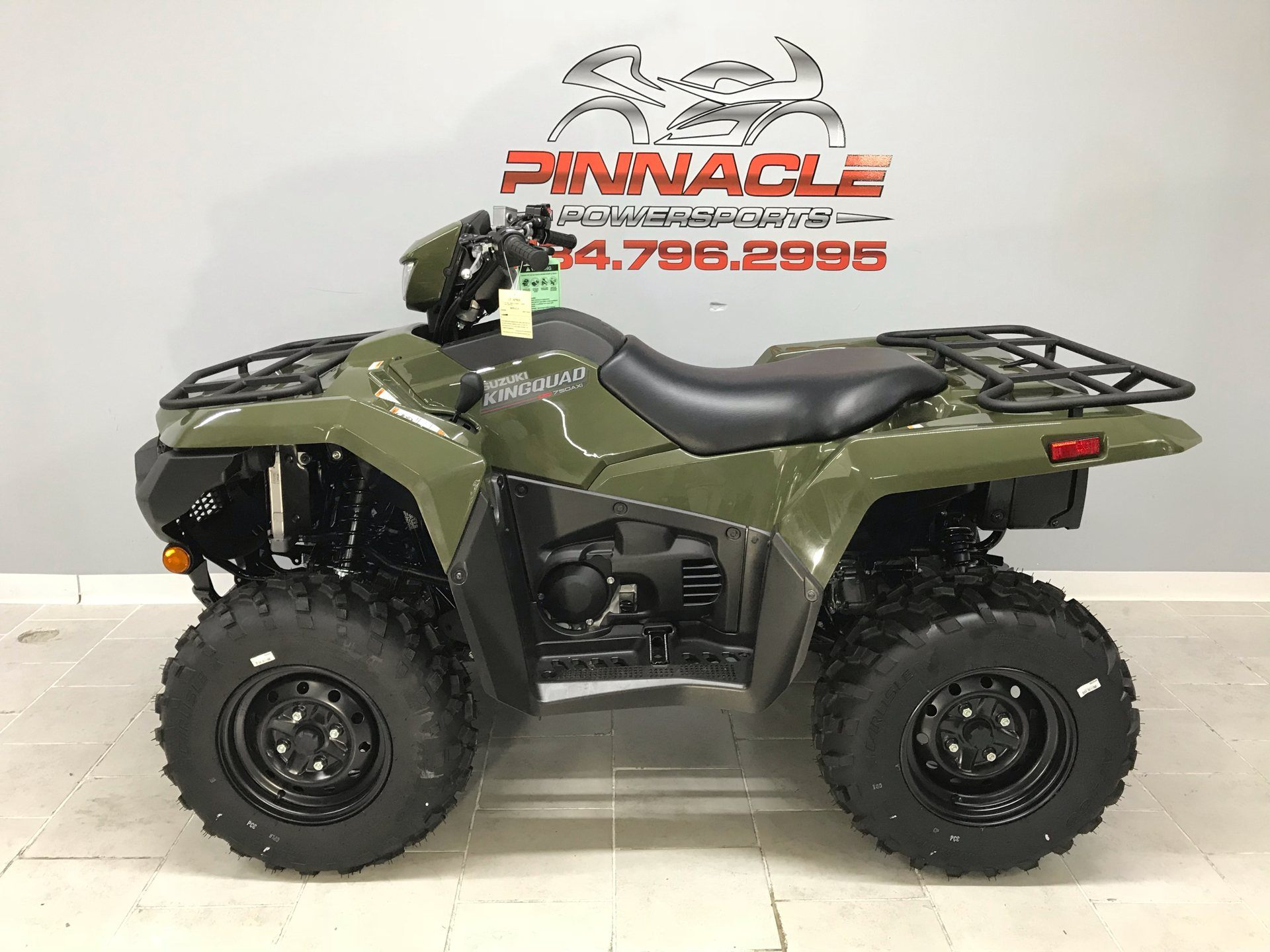 2020 Suzuki KingQuad 500AXi Power Steering with Rugged Package in Belleville, Michigan - Photo 8