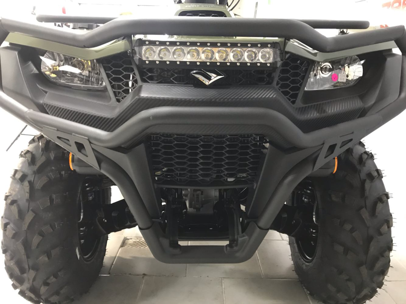 2020 Suzuki KingQuad 500AXi Power Steering with Rugged Package in Belleville, Michigan - Photo 3
