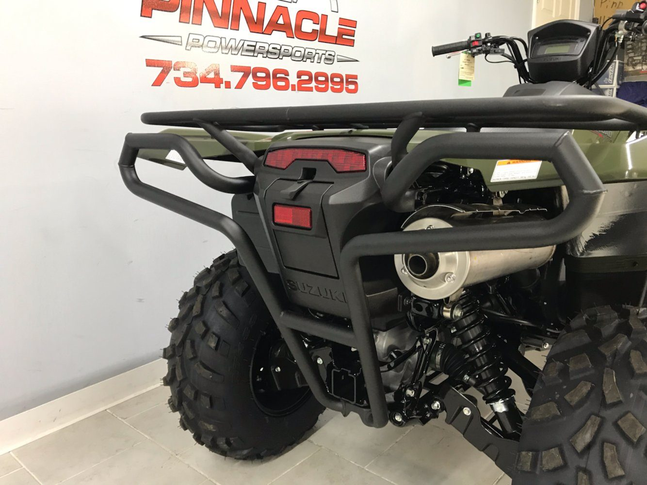 2020 Suzuki KingQuad 500AXi Power Steering with Rugged Package in Belleville, Michigan - Photo 4