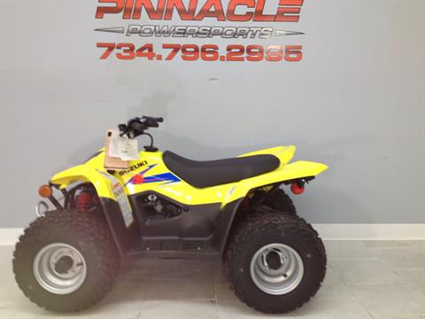 2020 Suzuki QuadSport Z50 in Belleville, Michigan - Photo 5