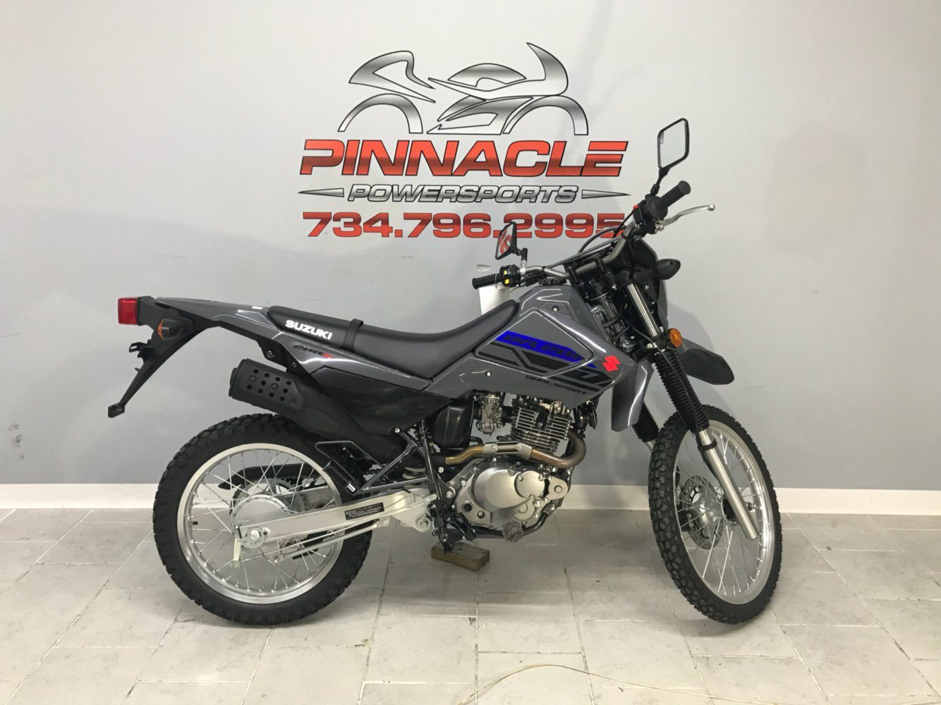 2020 Suzuki DR200S in Belleville, Michigan - Photo 1