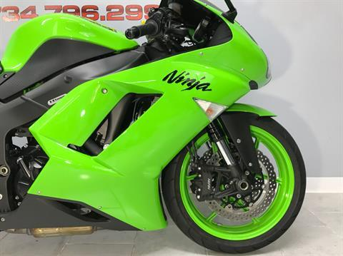 2008 Kawasaki Ninja® ZX™-6R in Belleville, Michigan - Photo 2