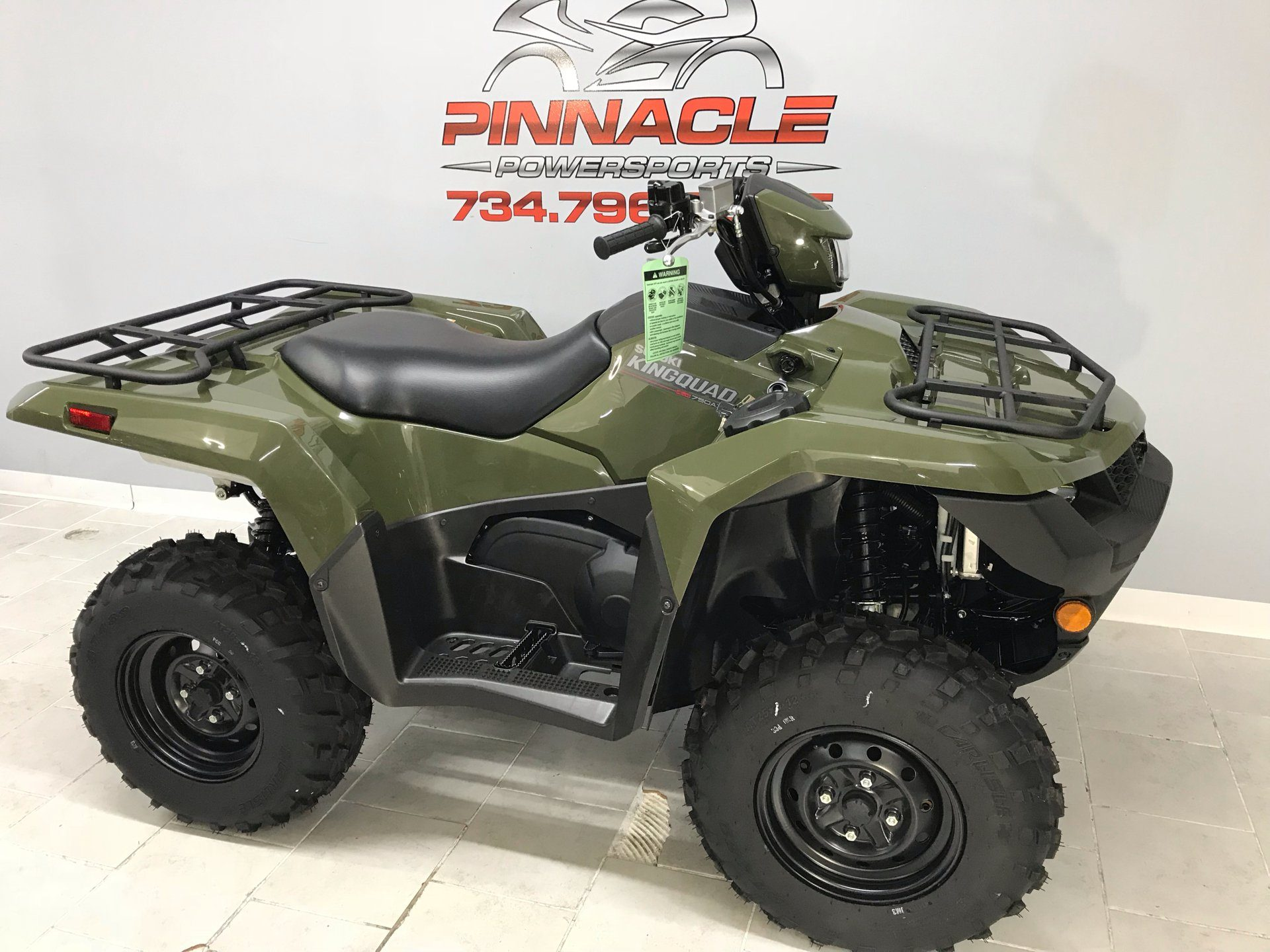 2020 Suzuki KingQuad 500AXi in Belleville, Michigan - Photo 2